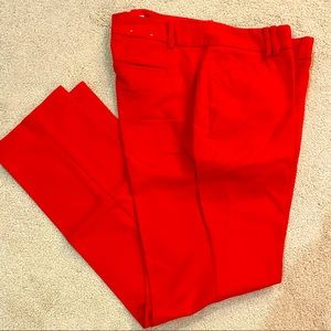 NWOT Red Trouser